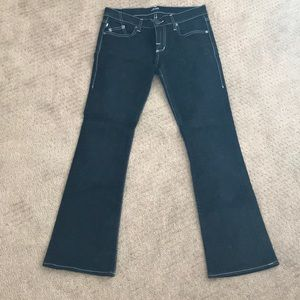 Rock and Republic Flared Black Jeans